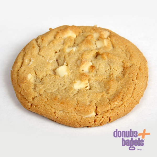 Vanille witte chocolade cookie