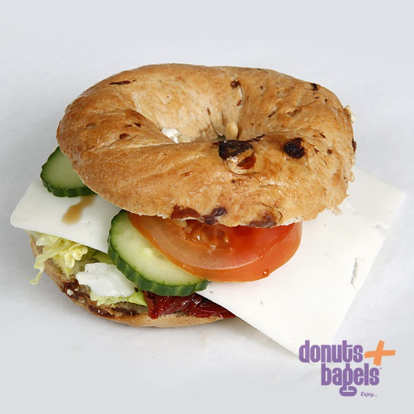 Vegetarische bagel