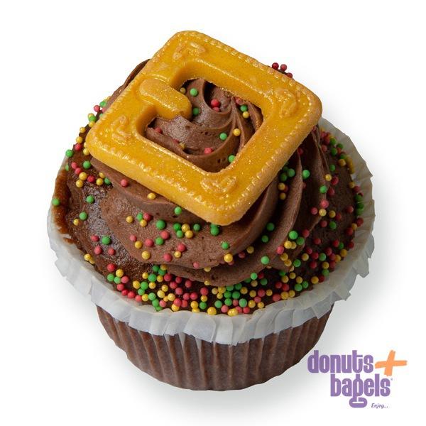 Kerst cupcakes chocolade