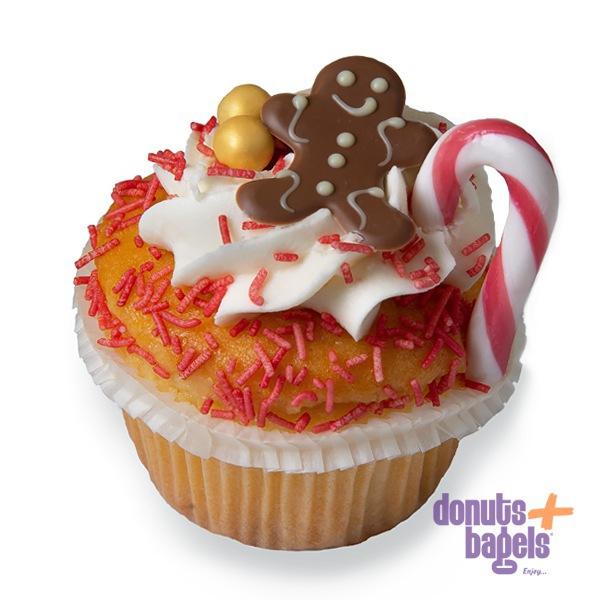 Kerst cupcakes ginger breadman