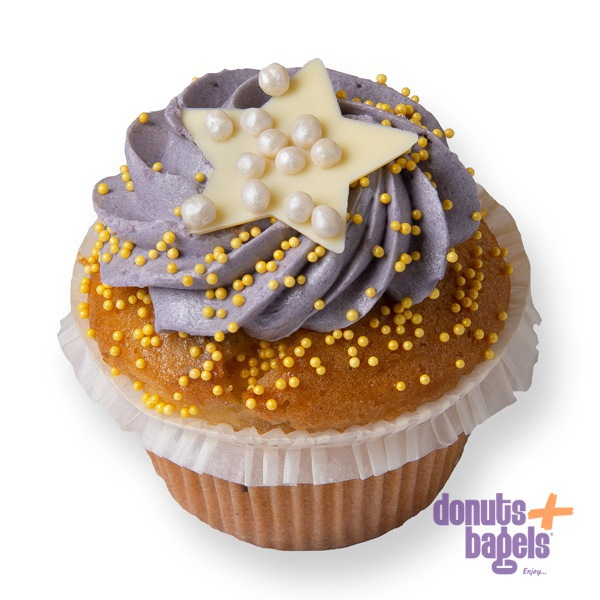 Kerst cupcakes ster