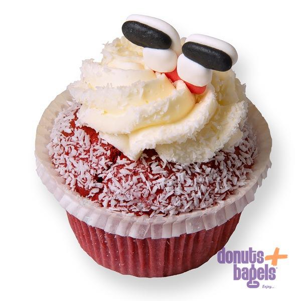 Kerst cupcakes red velvet