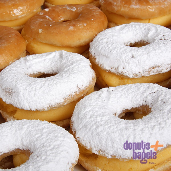 Pudding donuts
