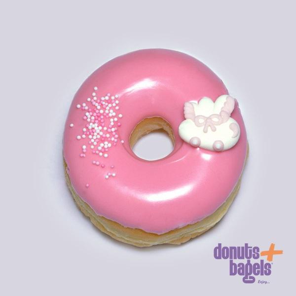 Babyshower donuts roze