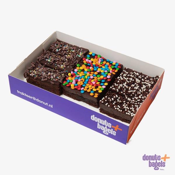 Brownie mix rainbow