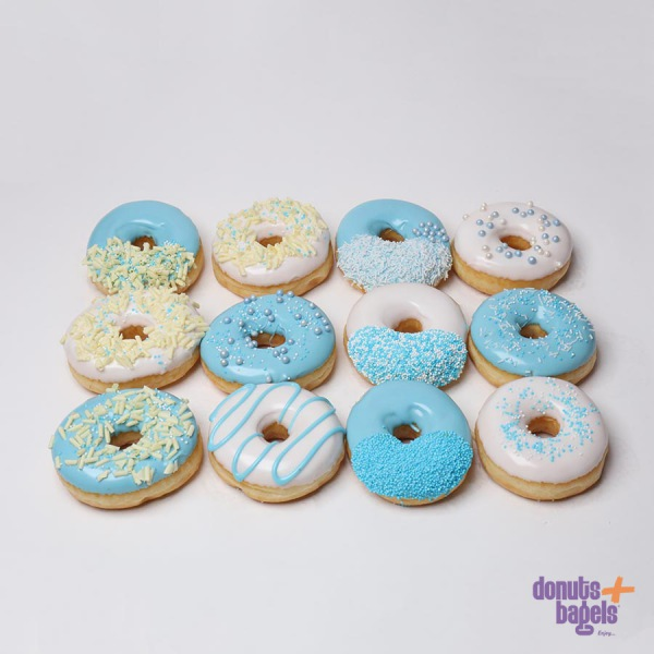 Gender reveal donuts
