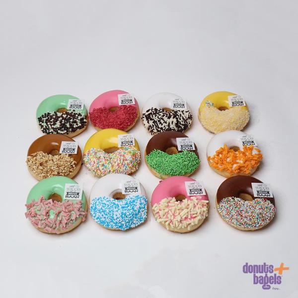 Donuts met logo