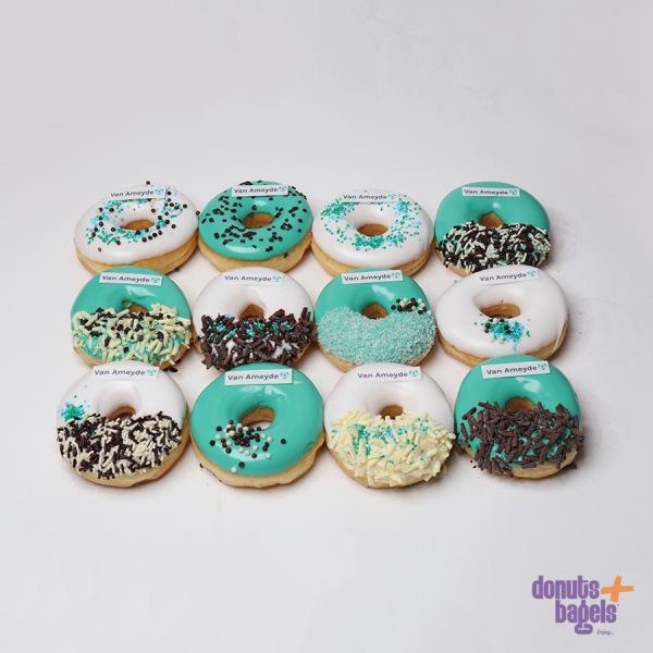 Bedrijfs donuts