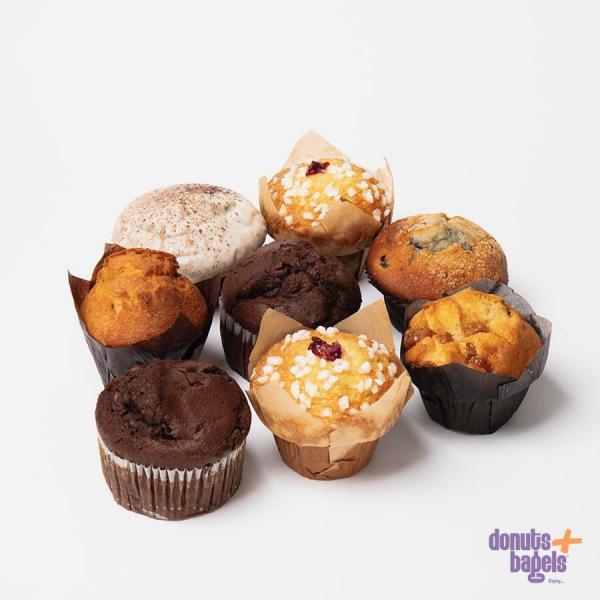 Muffins 8 stuks