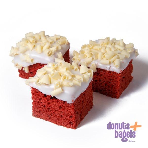 Red velvet cake - 3 stuks