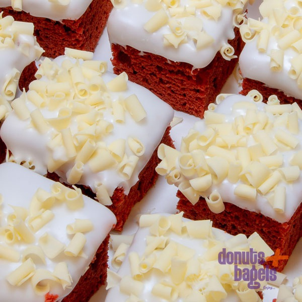 Red velvet cake detail