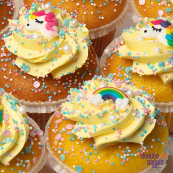 Lemon Cupcakes Unicorn