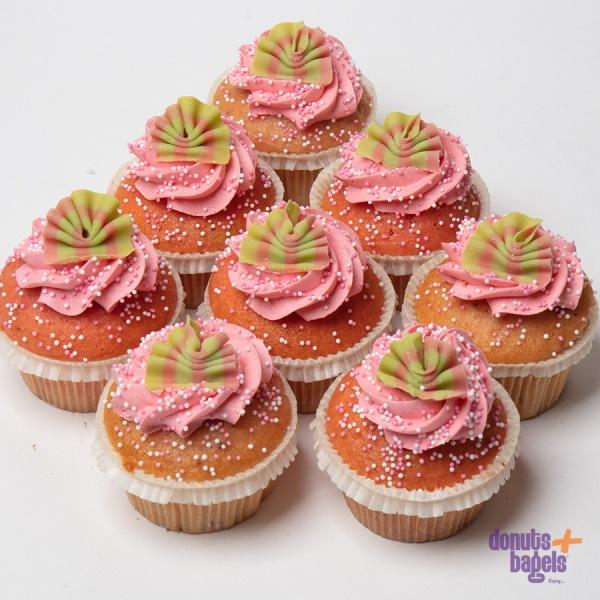Aardbei cupcakes