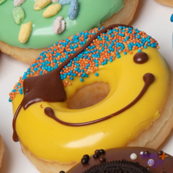 Kinder donuts geel