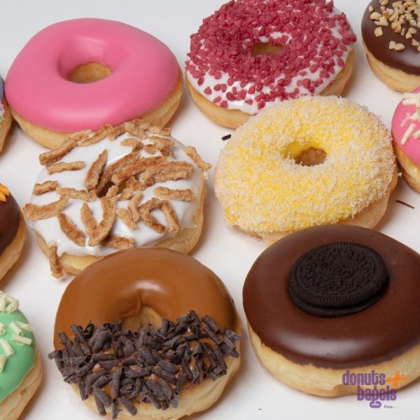 Donuts kantoortraktatie