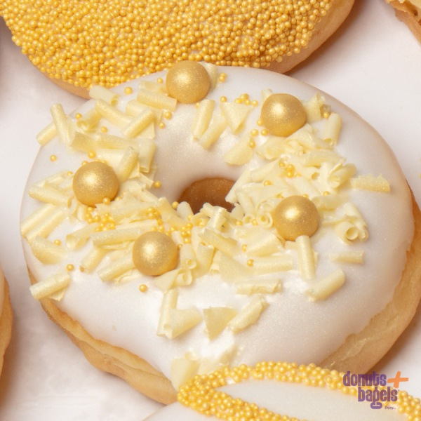 Wedding Donuts Goud