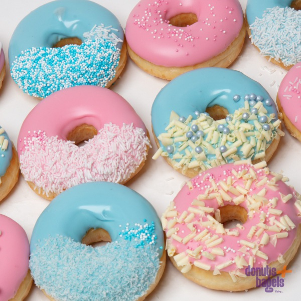 Gender reveal donuts mix