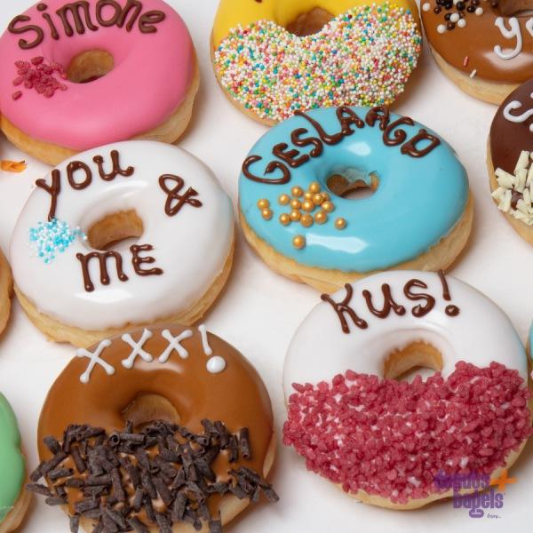 Tekst donuts