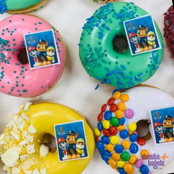Feest en thema donuts Paw Patrol