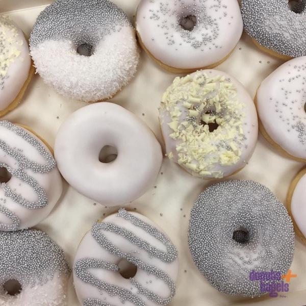 Wedding Donuts Zilver