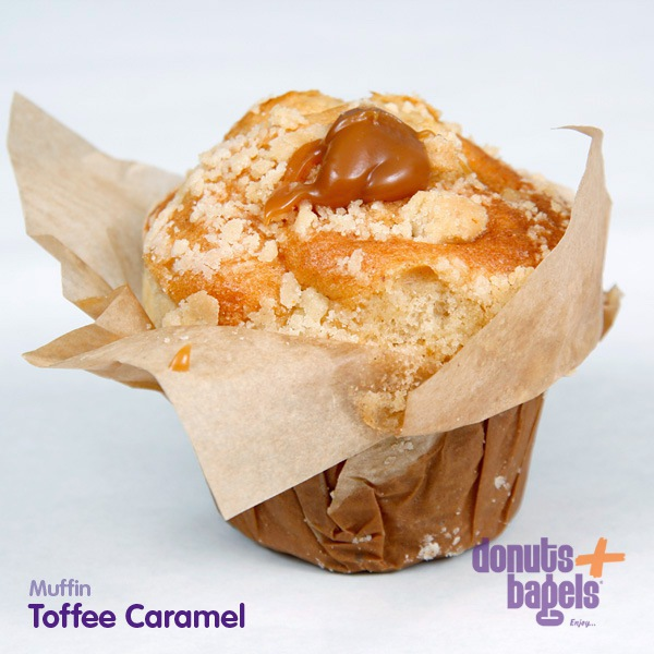 Appel Toffee Caramel Muffins