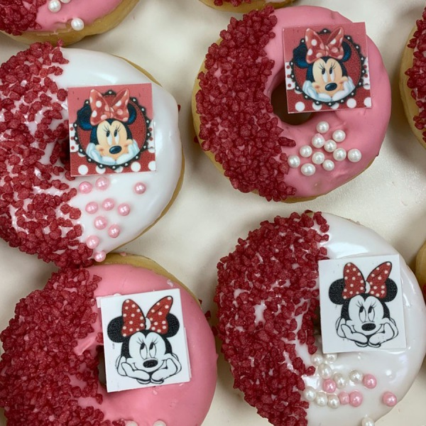 Minnie Mouse Donuts