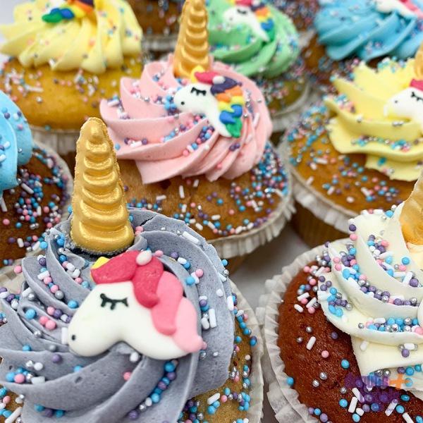 Unicorn cupcakes assortiment