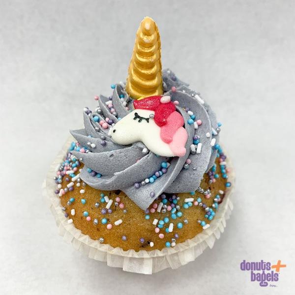 Unicorn cupcake paars
