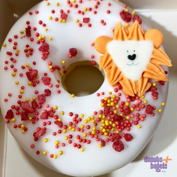 Dieren thema donut