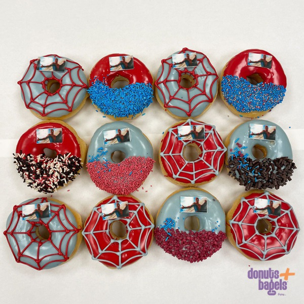 Spiderman donuts